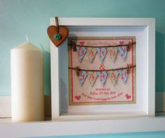 Bride & Groom Bunting
